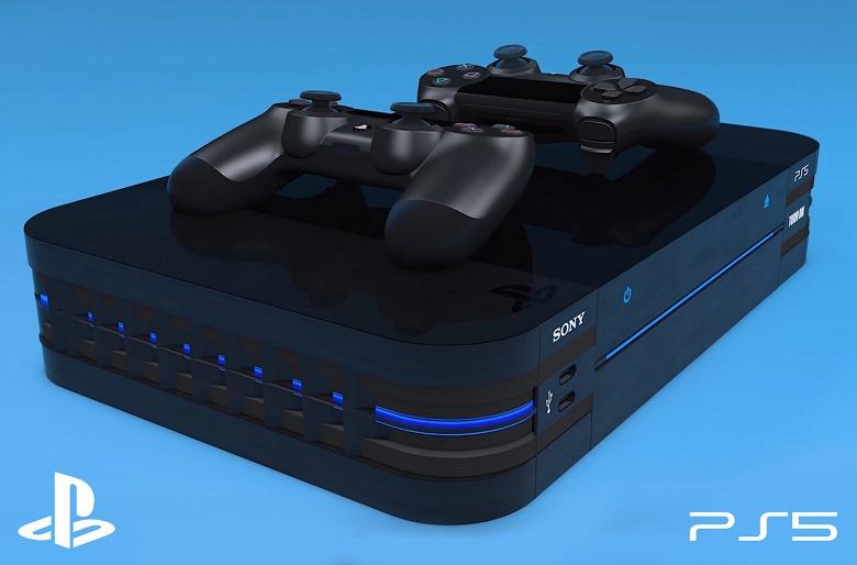 PlayStation 5 в новом дизайне, DualShock 5 с экраном и диск с GTA VI