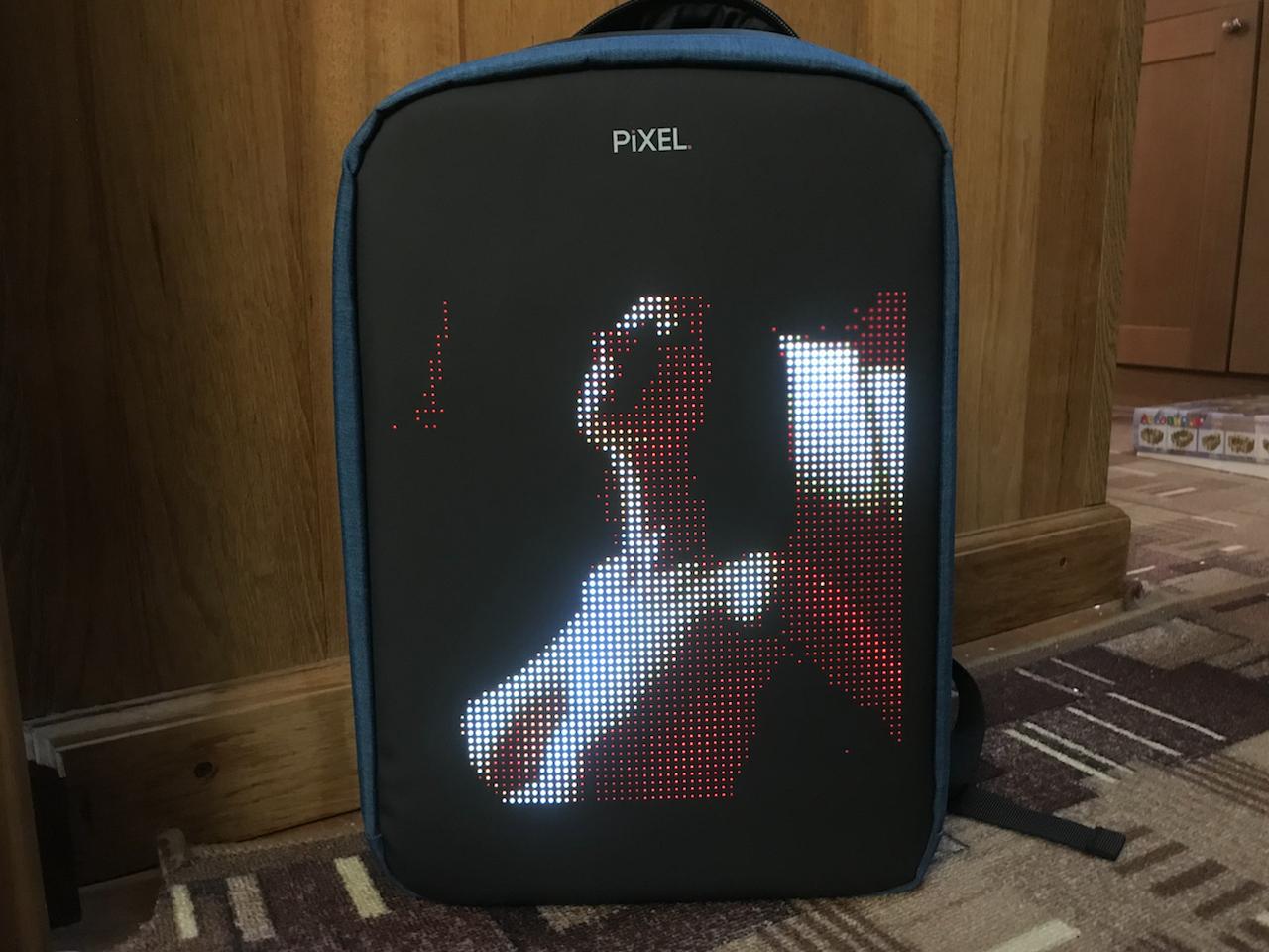 Новое слово в «рюкзакостроении»: встречайте модель с экраном Pixel — мой LED-опыт и впечатления - 22