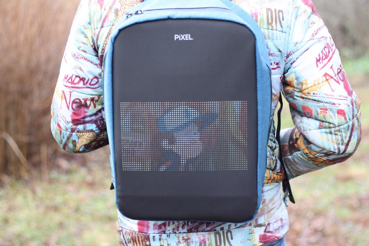 Новое слово в «рюкзакостроении»: встречайте модель с экраном Pixel — мой LED-опыт и впечатления - 24