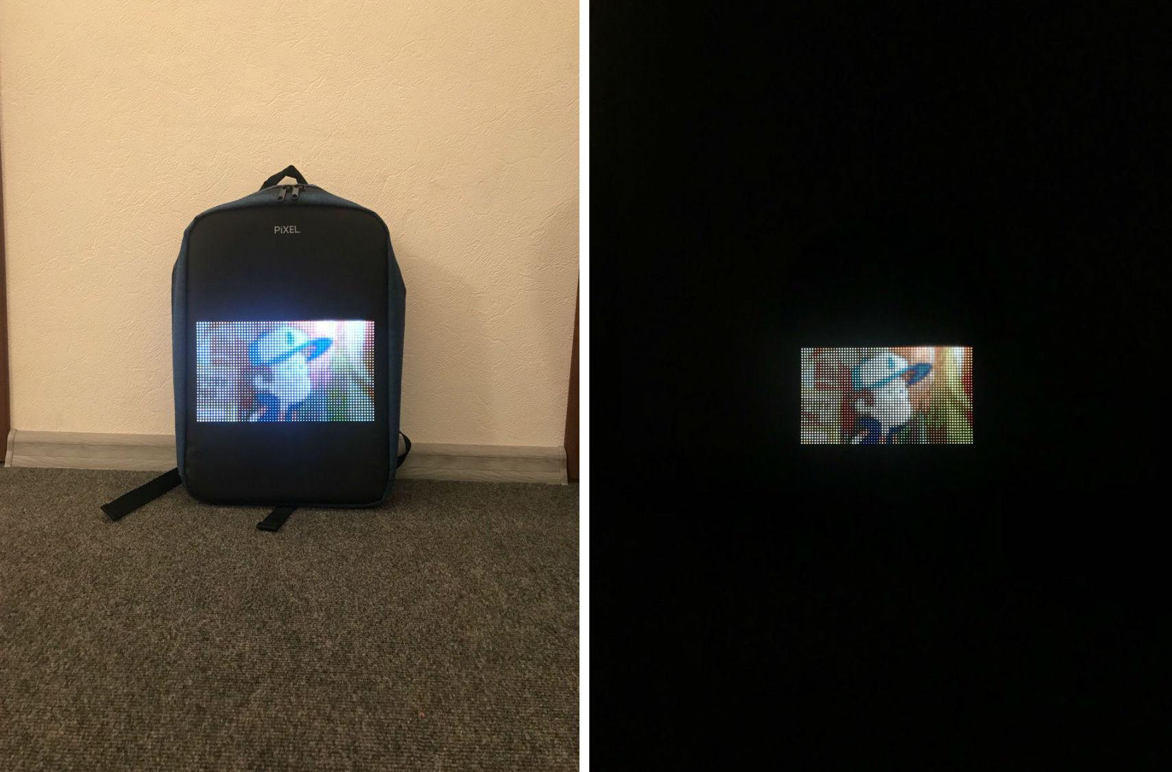 Новое слово в «рюкзакостроении»: встречайте модель с экраном Pixel — мой LED-опыт и впечатления - 26