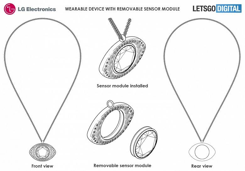 Умные подвески и ожерелья с датчиками, камерами и наушниками от LG