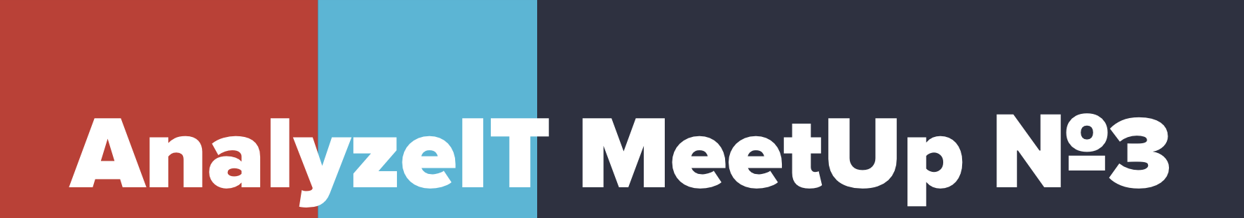 22 ноября, Москва — AnalyzeIT MeetUp №3 - 1