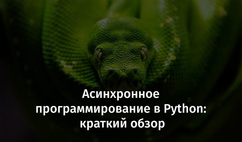 Асинхронное программирование в Python: краткий обзор - 1