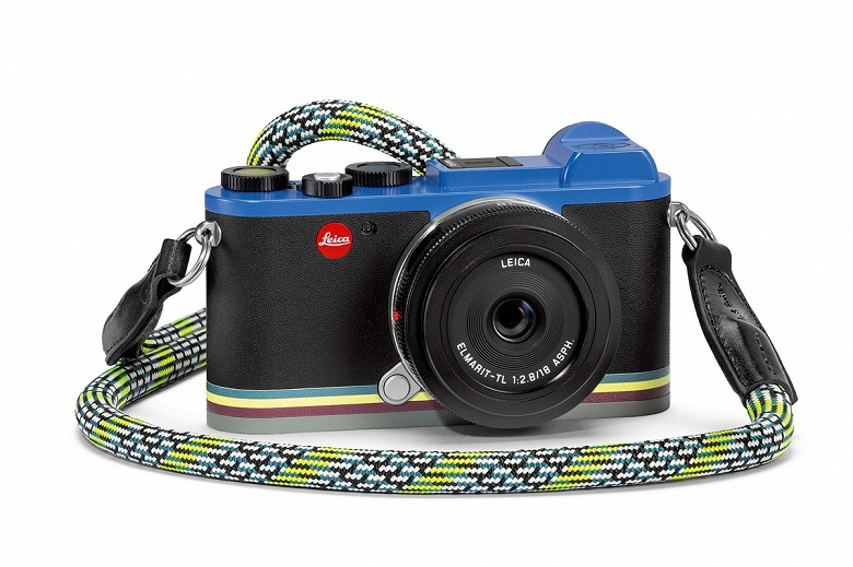 Камер Leica CL «Edition Paul Smith» выпущено 900 штук