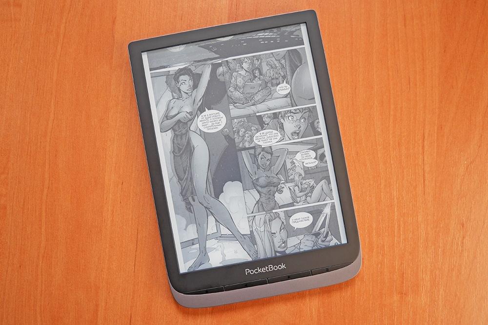 Краткий обзор ридера PocketBook 740 Pro: 7,8 дюйма, аудио и защита по IPX8 - 9