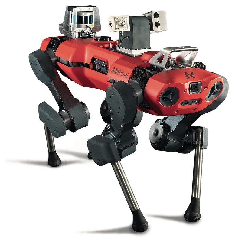 Четвероногий робоинспектор: в помощь рабочему