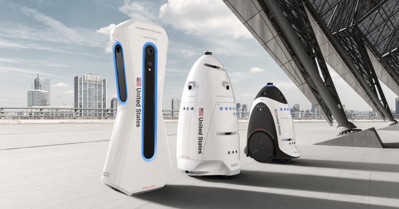 Роботы-охранники оказались трусливыми шпионами