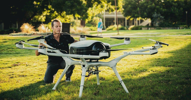 Водородный дрон совершил перелет между островами Санта-Крус и Сент-Томас