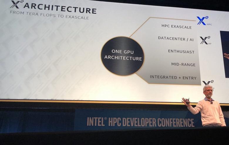 Intel рассказал о своих видеокартах: 3 линейки, GPU с тысячами исполнительных блоков, память HBM, Rambo Cache и объемная компоновка Foveros