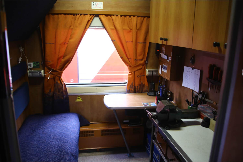 Для чего нужен штабной вагон поезда - 18