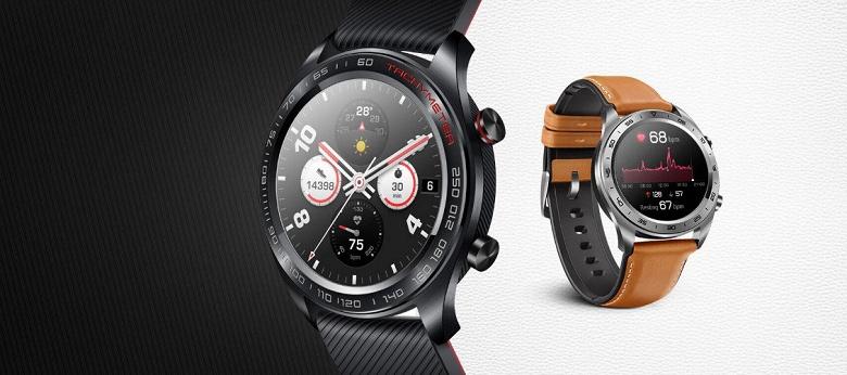 Работающие умные часы Honor Magic Watch 2 впервые показаны вживую