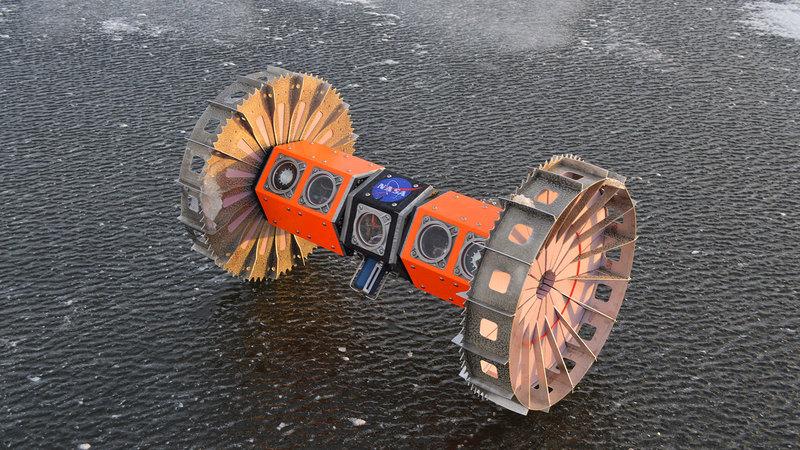 Аппарат для исследования ледяных лун испытают в Антарктиде