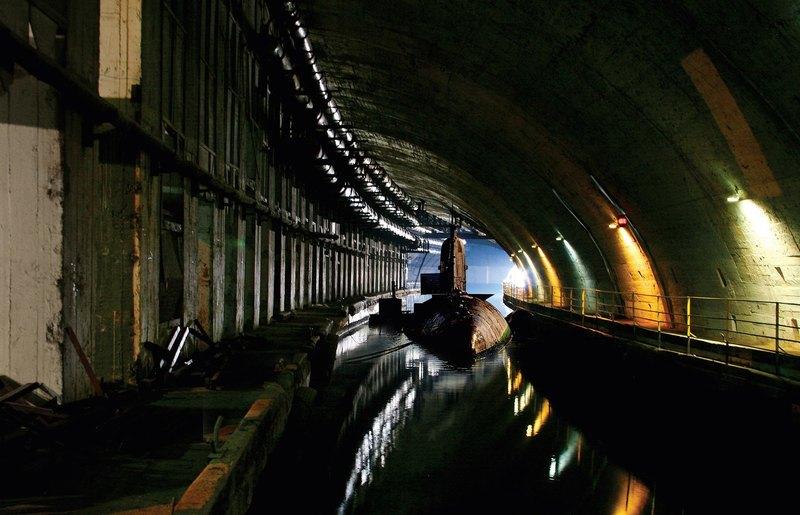 Подземелья холодной войны: секретная база подводных лодок
