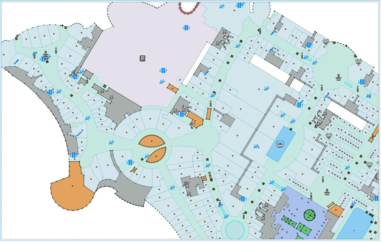 Дубай Молл в смартфоне, или как добавить поэтажный план здания в своё приложение - 4