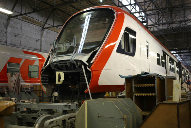«Иволга 2.0» — поезд, на котором вы поедете по МЦД - 1