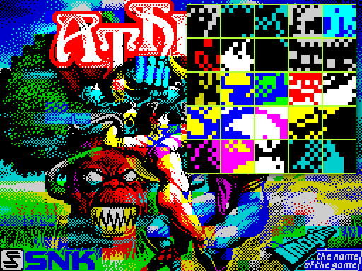 пример ZX-Spectrum атрибутов