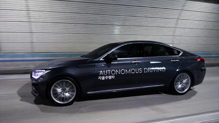 В декабре Hyundai начнёт тестирование самоуправляемых автомобилей на дорогах Сеула