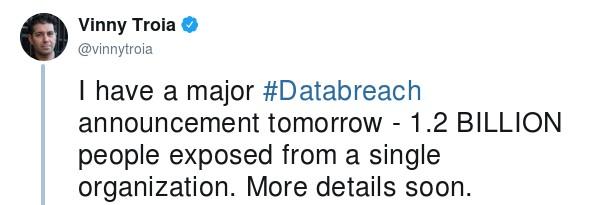 Публичные данные 1,2 млрд пользователей были обнаружены на открытом Elasticsearch-сервере - 1
