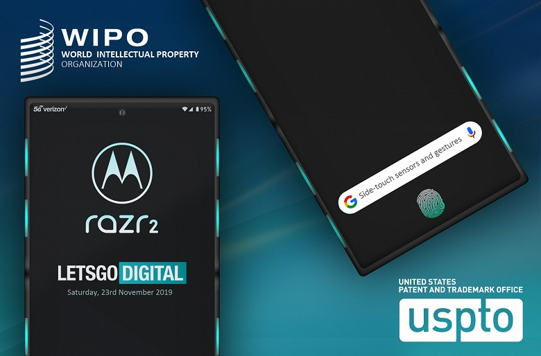 Motorola Razr 2 получит инновационную систему управления
