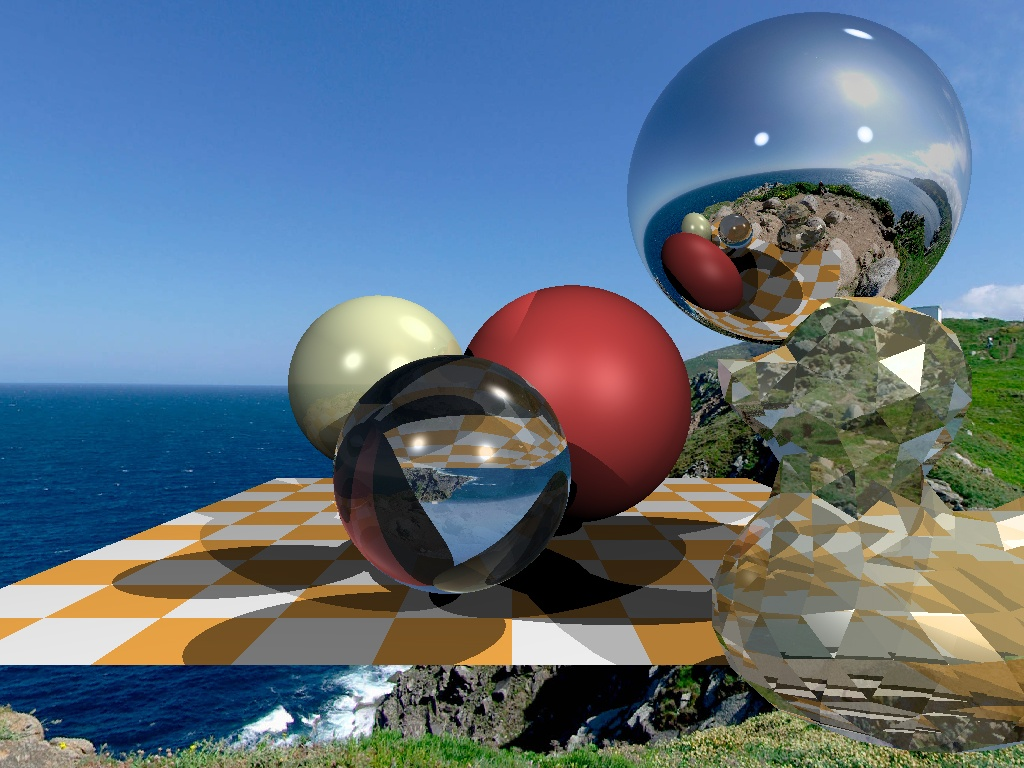 Understandable RayTracing in 256 lines of bare C++ - 1
