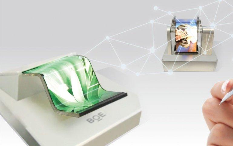 BOE планирует за год утроить выпуск гибких дисплеев OLED