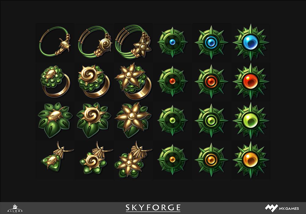 Дизайн интерфейса для игры, рисуем пак иконок - 1