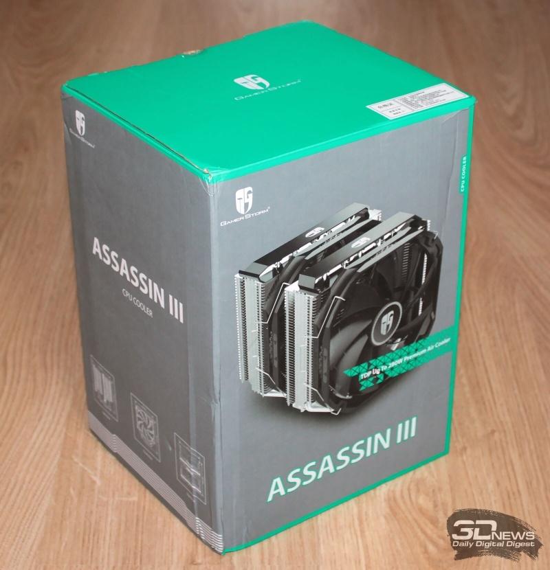 Новая статья: Обзор и тест кулера Deepcool Assassin III: попытка номер три