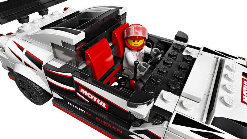 Посмотрите на Nissan GT-R Nismo из Lego