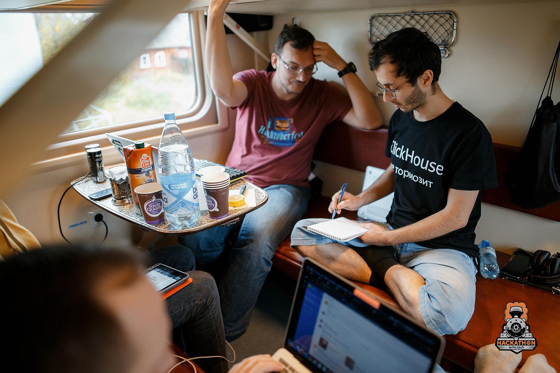 Как мы сделали хакатон в поезде и что из этого получилось - 10