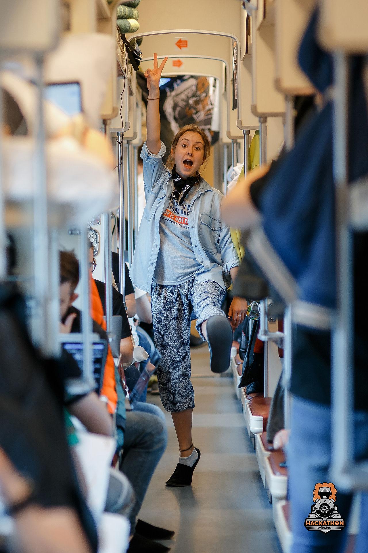 Как мы сделали хакатон в поезде и что из этого получилось - 14