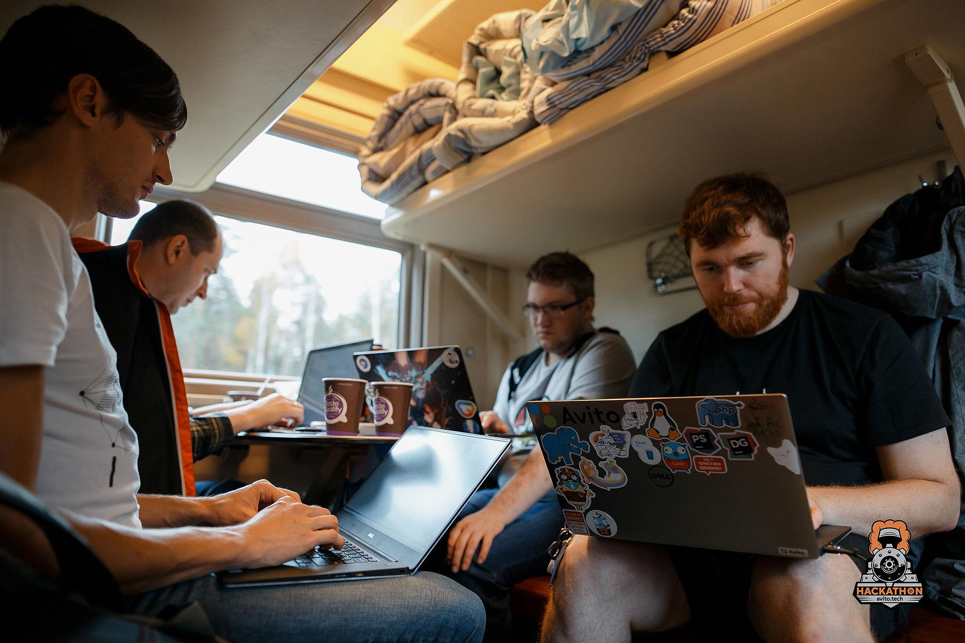 Как мы сделали хакатон в поезде и что из этого получилось - 16