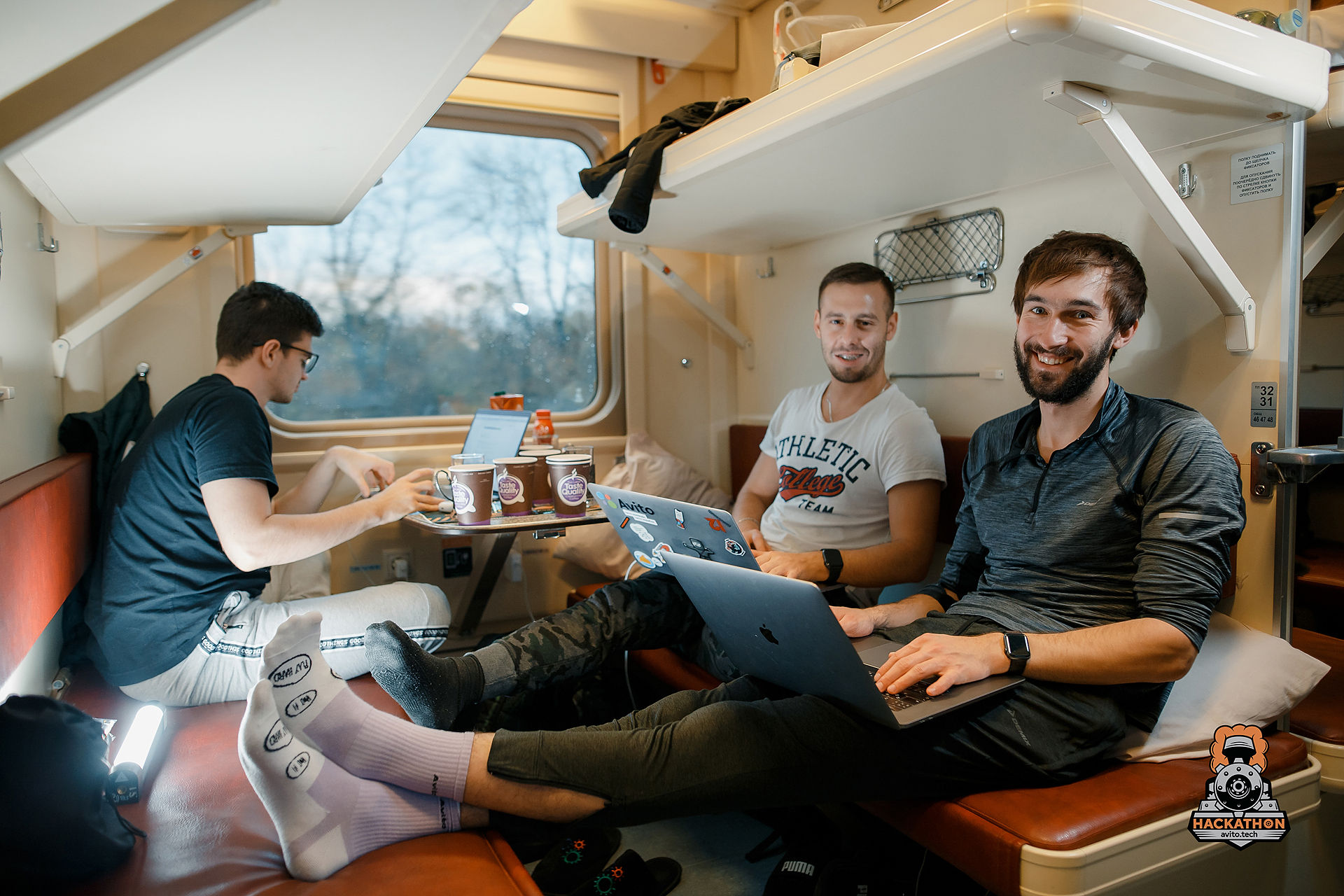 Как мы сделали хакатон в поезде и что из этого получилось - 17
