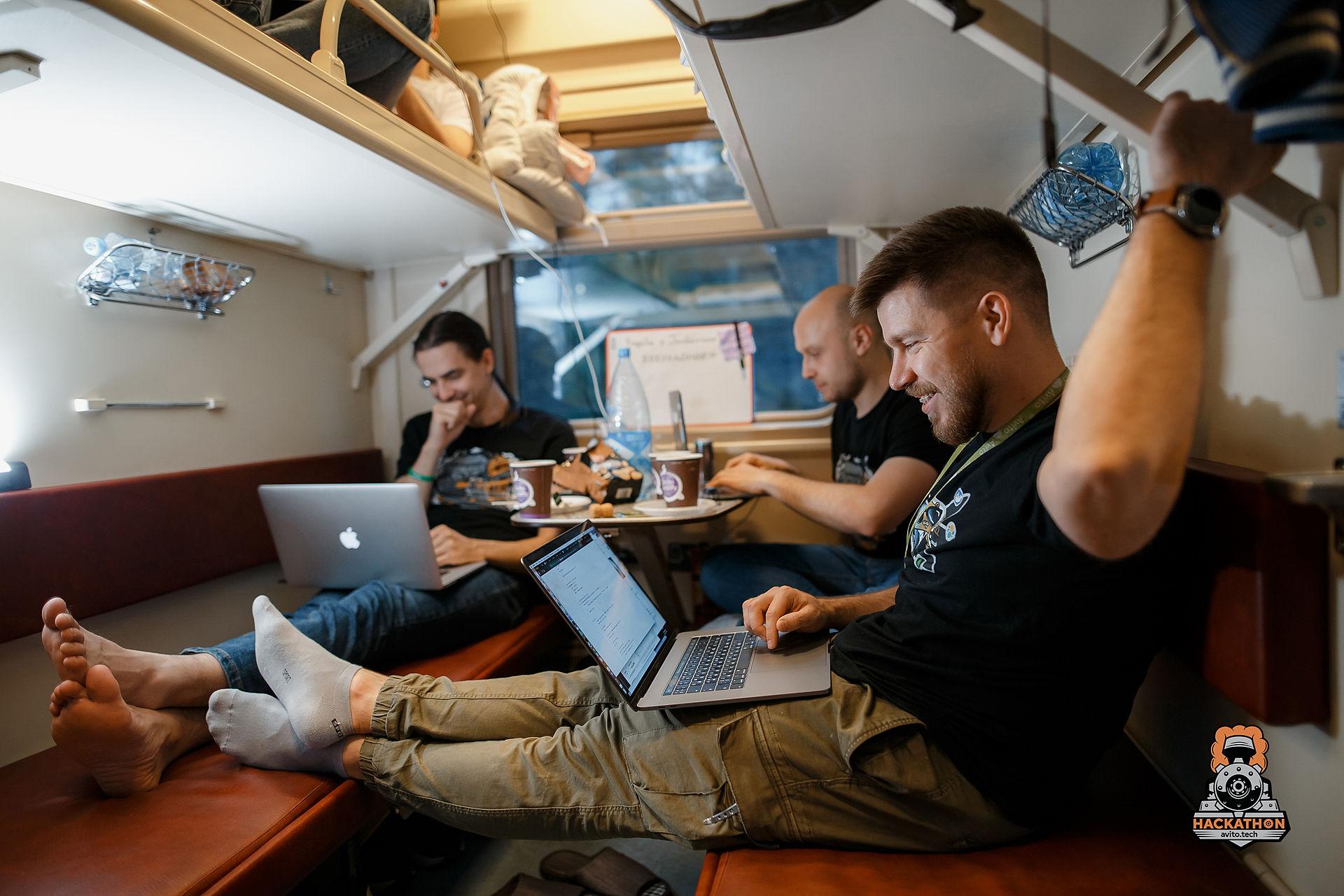 Как мы сделали хакатон в поезде и что из этого получилось - 18