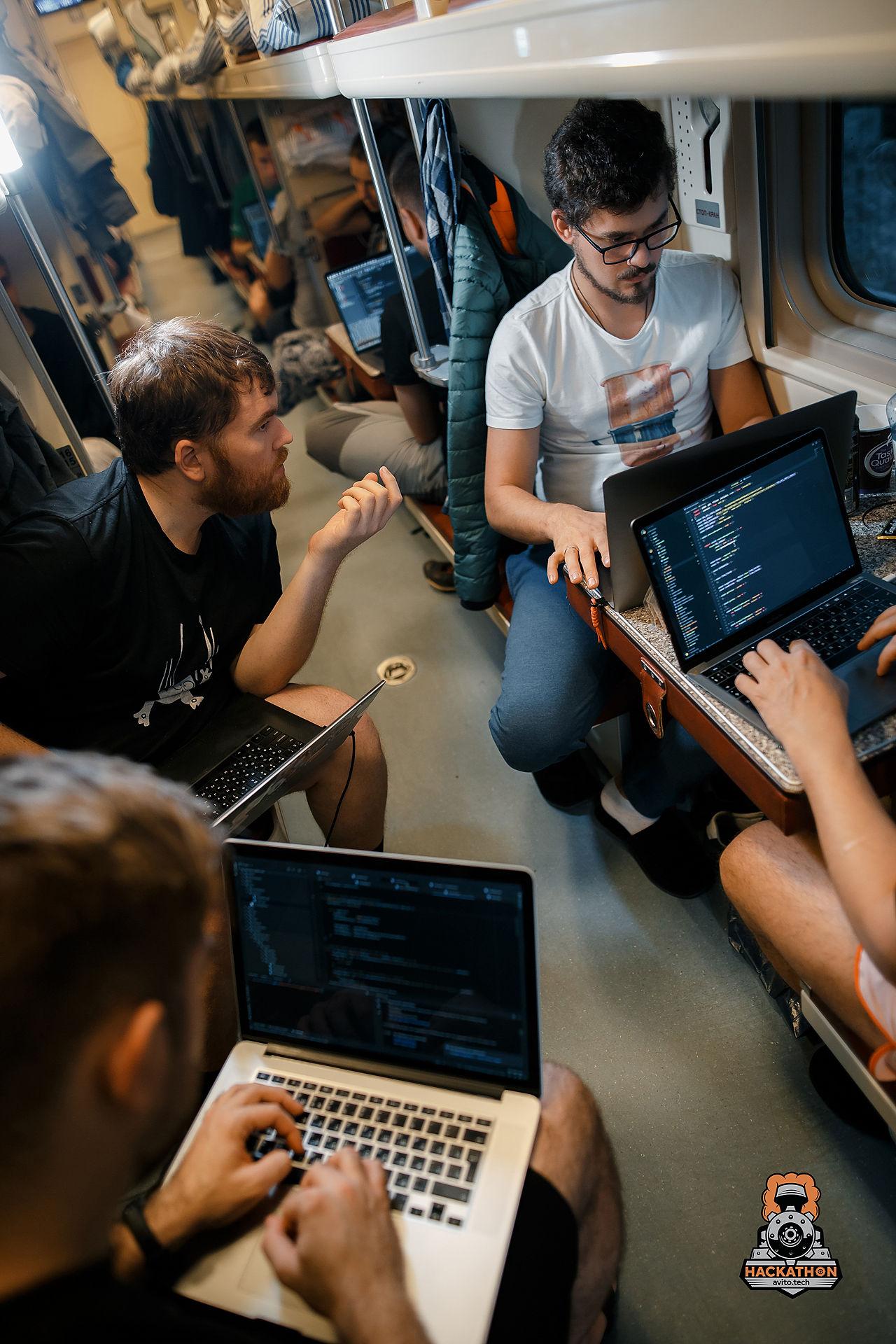 Как мы сделали хакатон в поезде и что из этого получилось - 19