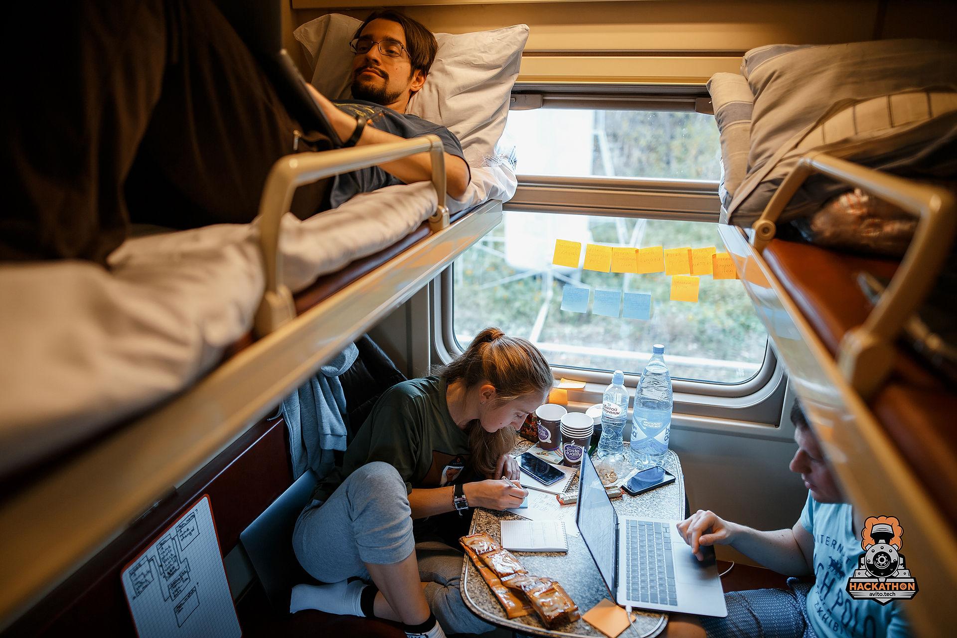 Как мы сделали хакатон в поезде и что из этого получилось - 1