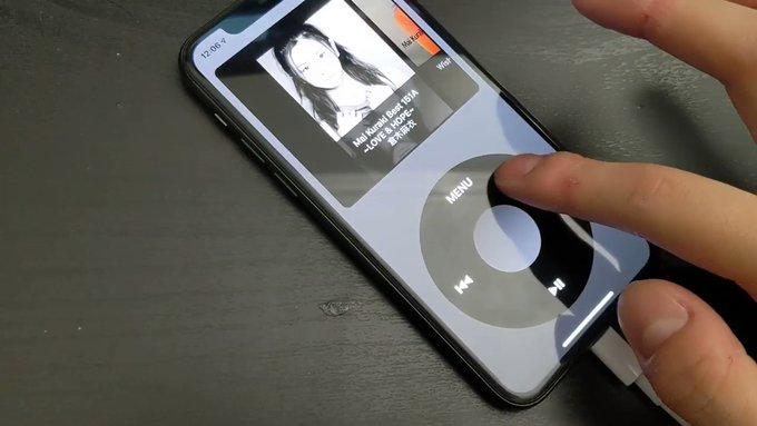 Как превратить iPhone в классический iPod с культовым колёсиком