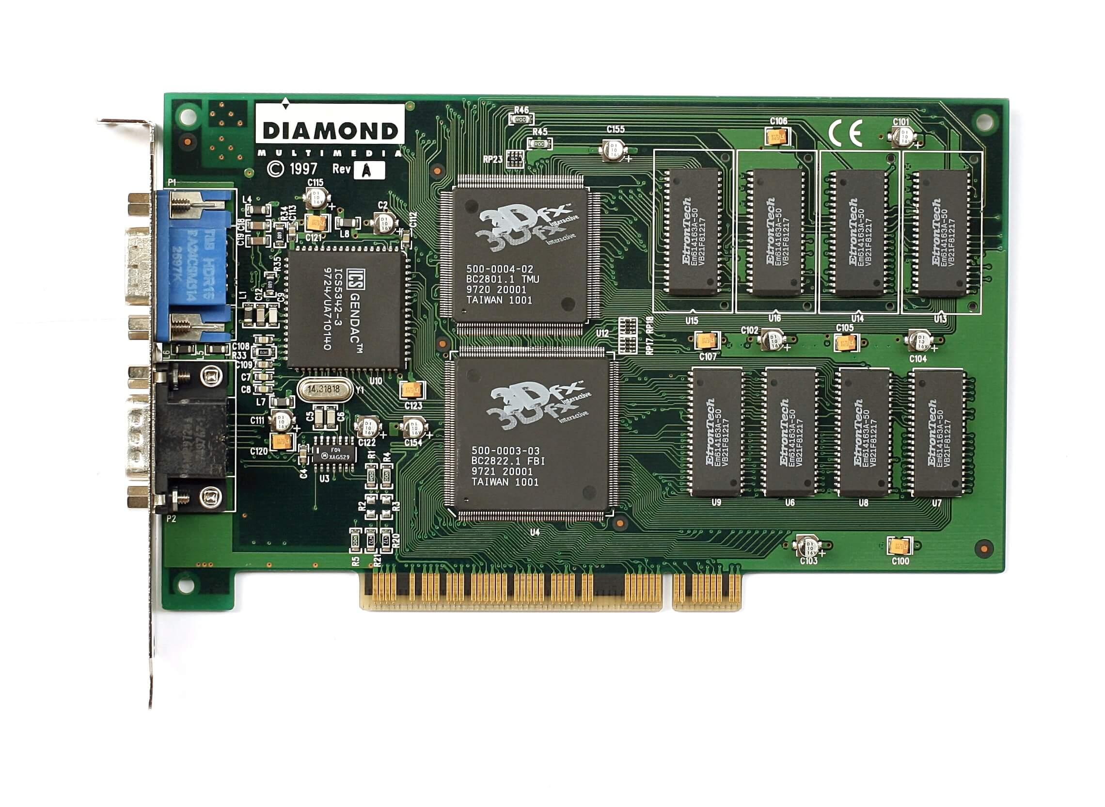 История видеопроцессоров, часть 2: 3Dfx Voodoo - 1