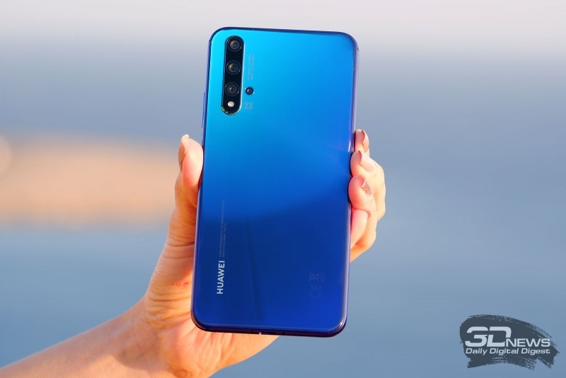Новая статья: Обзор смартфона Huawei nova 5T: яркая звезда