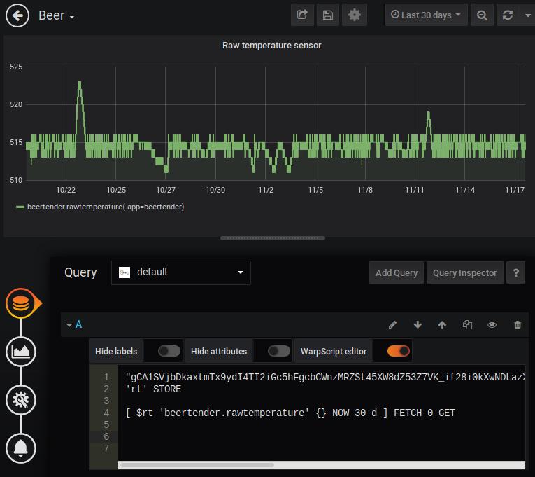 Панель мониторинга Grafana для пивной системы BeerTender - 4