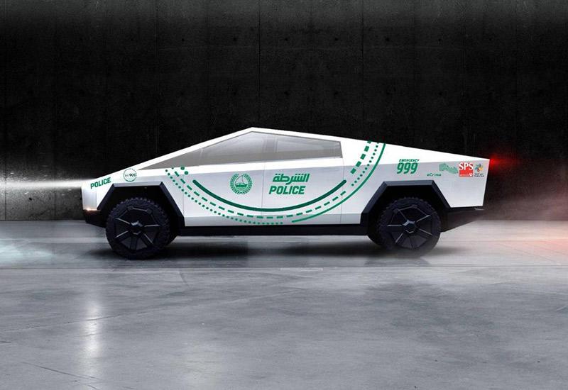 Полиция Дубая заказала партию Tesla Cybertruck - 1