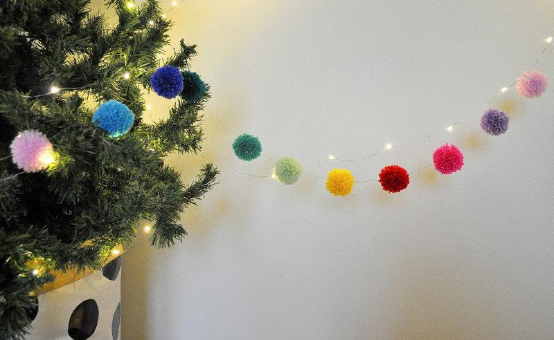 10 вариантов самодельных гирлянд на Новый год: праздник своими руками