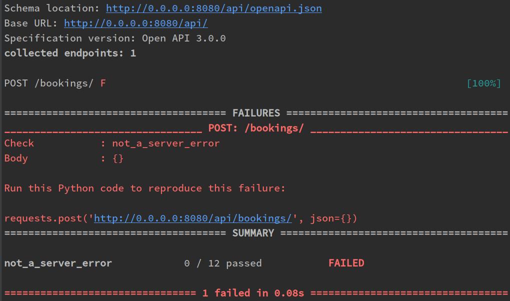 Schemathesis: property-based тестирование для API схем - 2