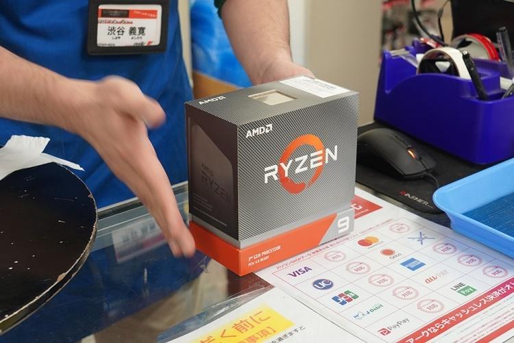 Фото дня: очереди в Японии за Ryzen 9 3950X стоимостью около $900