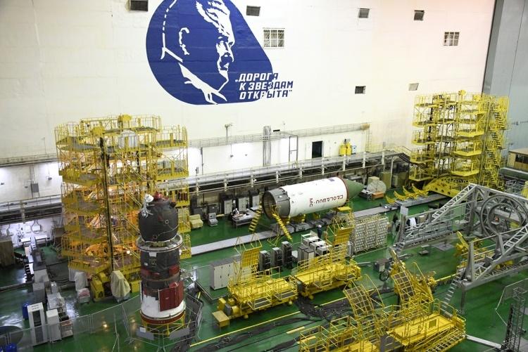 Фото дня: «Прогресс МС-13» отправился на общую сборку в рамках подготовки 74-й миссии к МКС