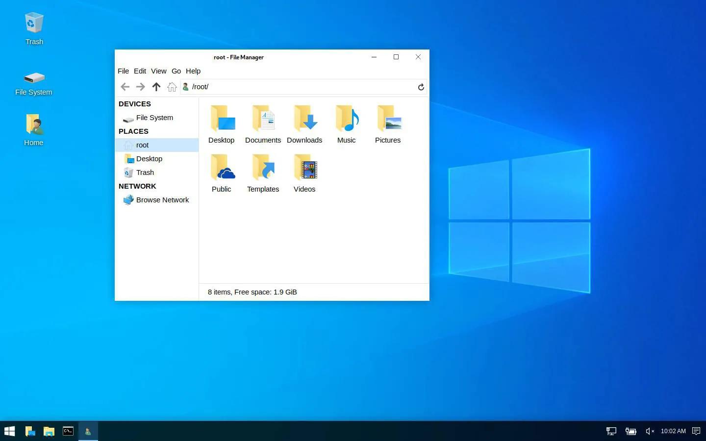 Kali Linux получил режим визуальной мимикрии под Windows и другие особенности версии 2019.4 - 1