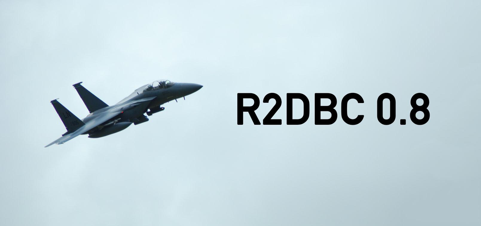 R2DBC Arabba-RELEASE — новый взгляд на реактивное программирование для SQL - 1