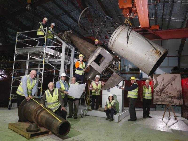 150-летний австралийский телескоп собрали вновь - 4