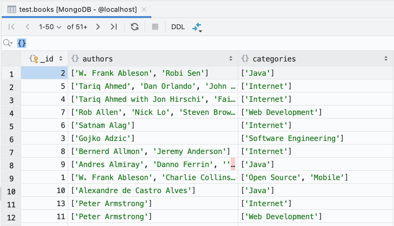 DataGrip 2019.3: MongoDB, дебаггер, модный прогресс-бар, много новых инспекций - 3