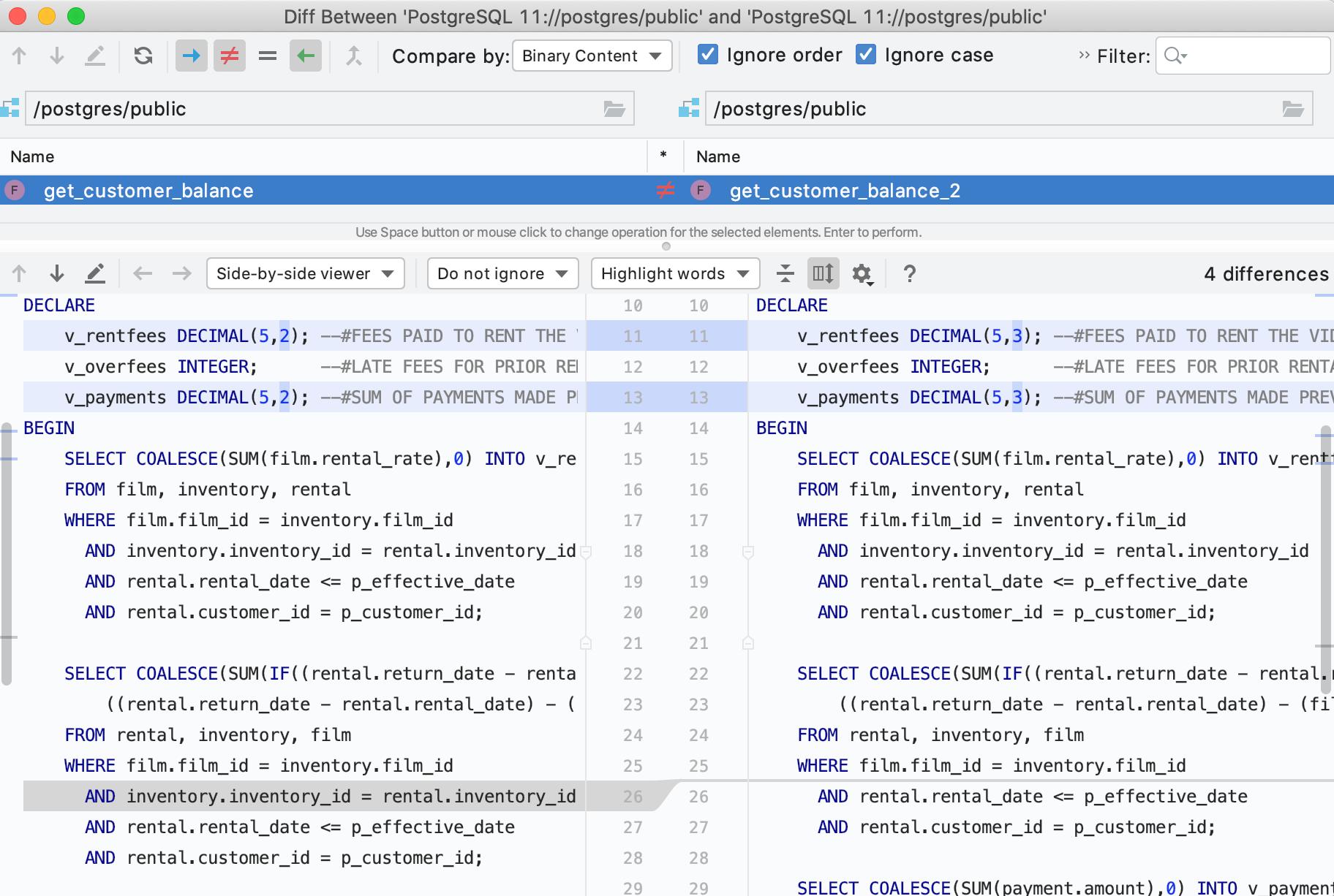DataGrip 2019.3: MongoDB, дебаггер, модный прогресс-бар, много новых инспекций - 9