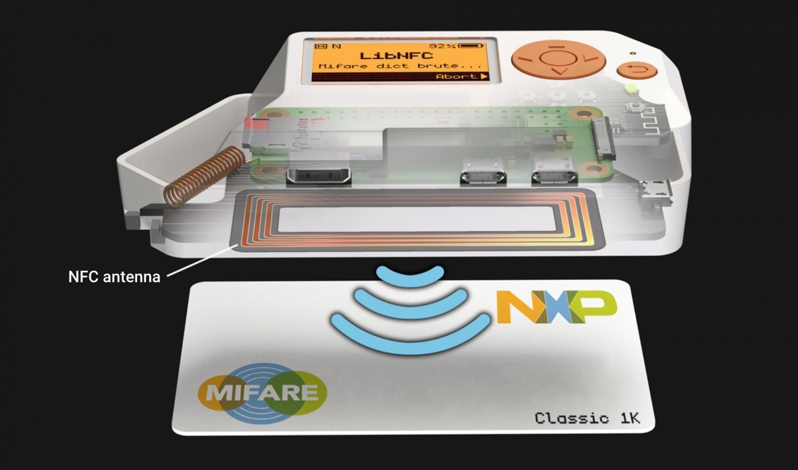 Flipper Zero — модуль для чтения NFC-карт